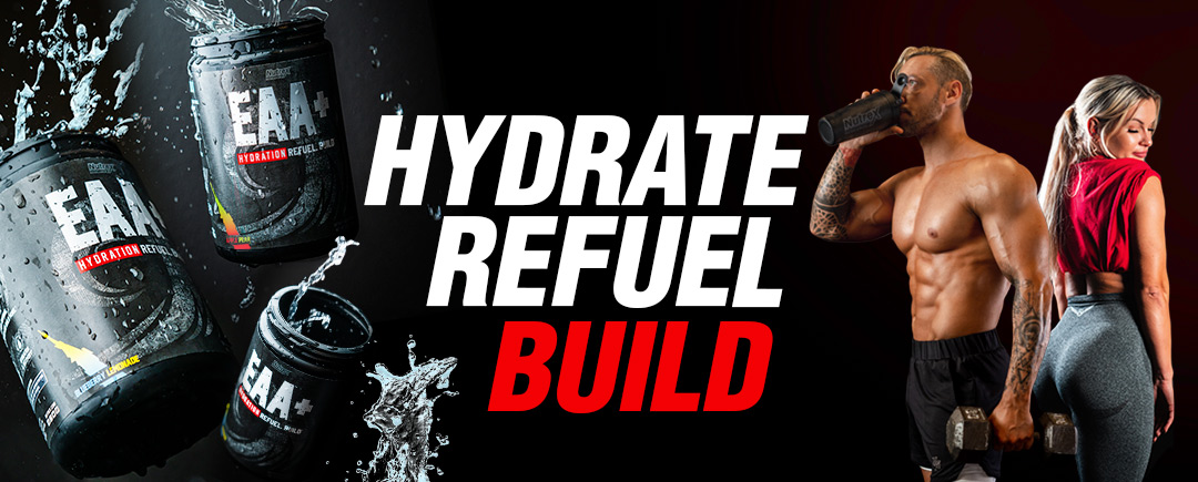 EAA+ Hydration Refuel. Recover. Build. Mobile